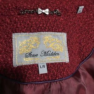 Steve Madden Jackets & Coats - Steve Madden boucle capecoat